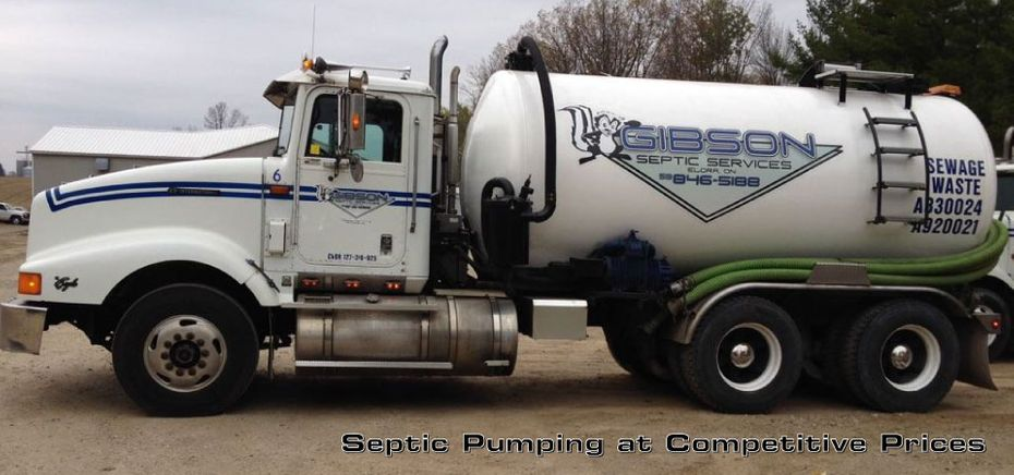 Septic Pumping at Competitive Prices